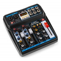 4-KANAALS MIXER DSP/USB/MP3/BT