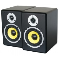 ACTIVE STUDIO MONITOR SPEAKER 5'' PAAR (1X ACTIEF EN 1X PASSIEF)