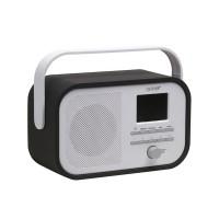 DAB-40BLACK - DAB+/FM-RADIO MET DAB-SLIDESHOW - ZWART
