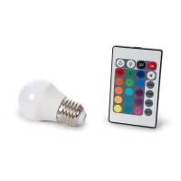 LEDLAMP 4W RGB EN WARMWIT 230V E27
