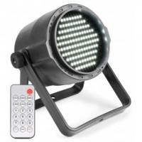 STROBE WIT 120 LEDS MET INGEBOUWDE ACCU OPLAADBAAR VIA MICROUSB (EXCL.VOEDING)