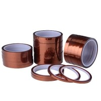 POLYIMIDE TAPE 15MM X 33M VOOR TEMPERATUREN VAN -269C TO +400C