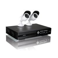 BEWAKINGS SYSTEEM RECORDER FULL HD 1TB + 2 HD CAMERA'S TVI+ 2 KABELS 20M EN VOEDING