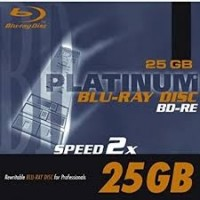 BLU-RAY BD-RE 25GB REWRITEABLE 2X