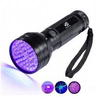 LED ZAKLAMP UV 4W 450LM 3XAA