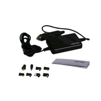 GESTABILISEERDE SCHAKELENDE SPANNINGSOMVORMER VOOR DE AUTO 75W + USB + 8 STEKKERS