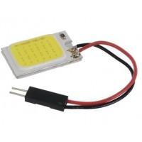 LED COB WIT 12V/0,9W 16 LEDS 16X26MM