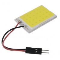 LED COB WIT 12V/1,8W 24 LEDS 26X36MM