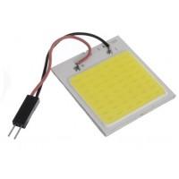 LED COB WIT 12V/1,1W 48 LEDS 40X35MM