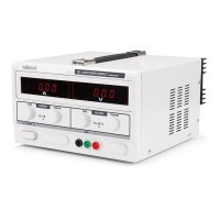 LABORATORIUMVOEDING 0-30V /10A DUBBELE LCD DISPLAY