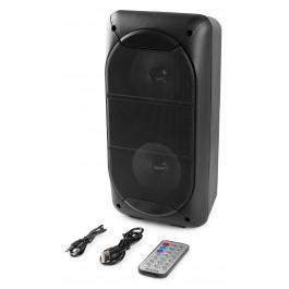 PORTABLE AUDIOSYSTEEM 2X4'' 200W USB/MP3/BLUETOOTH ACCU