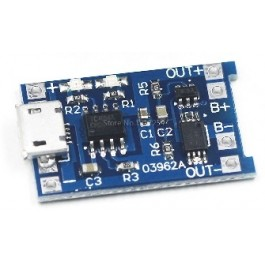 MICRO LIPO LADER 3,7/4,2V 1000MA MICRO USB