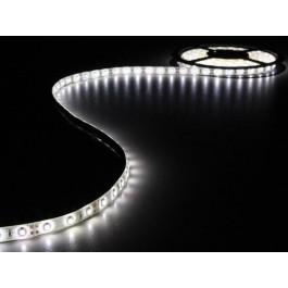 LED STRIP WIT 5M 300 LEDS IP61 ZELFKLEVEND INCL. 12VDC ADAPTER