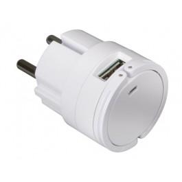 COMPACTE LADER MET DUBBELE USB 5V 2,1A