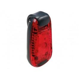 MULTIFUNCTIONEEL LED-LICHT MET CLIP - ROOD