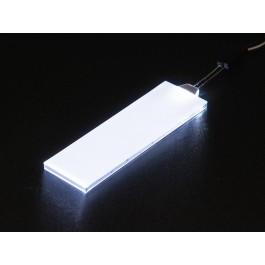 LED BACKLIGHT WIT 23X75MM