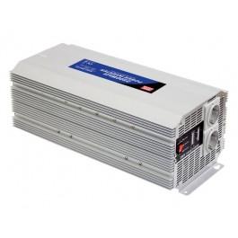 OMVORMER 12VDC-230VAC 2500W GEMODIFICEERDE SINUSGOLF