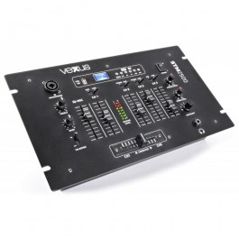 5-KANAALS MIXER USB/MP3 MET BLUETOOTH