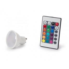 LEDLAMP 4W RGB EN WARMWIT 230V GU10