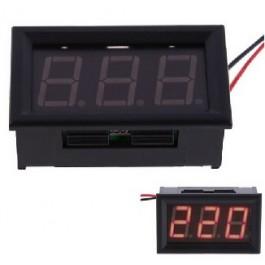 PANEELMETER LED ROOD 60-300VAC