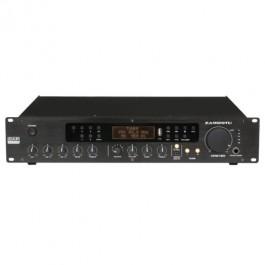 VERSTERKER 100V 120W MET FM TUNER USB EN 2 ZONES