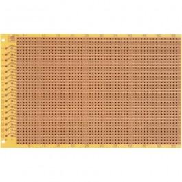EXPERIMENTEER PRINTPLAAT PUNT RASTER 2,54MM EN 32P DIN41612CONNECTOR AANSLUITING PERTINAX 5 STUKS