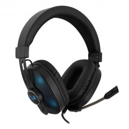 GAMING HEADSET, 2X 3,5MM JACK + USB VOOR LED VERLICHTING (ALLEEN PC)