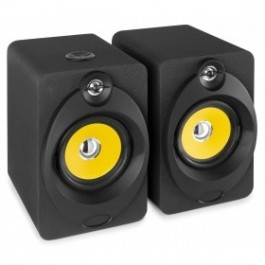 ACTIVE STUDIO MONITOR SPEAKER 5'' PAAR (1X ACTIEF EN 1X PASSIEF) BT/USB