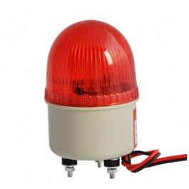 FLITSER ROOD 230VAC 71MM 5W LAMP
