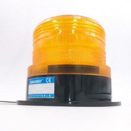 FLITSER GEEL 12VDC/24VDC  94MM