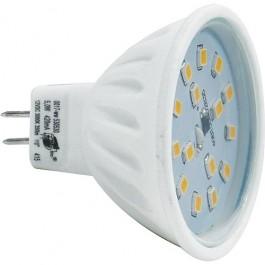 LED LAMP GU5.3/MR16 12V 3000K 5.0W 370LM NIET DIMBAAR
