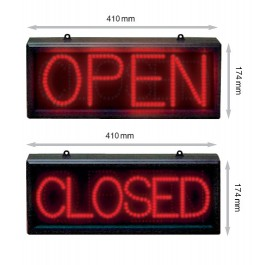 OPEN/CLOSED BORD LED