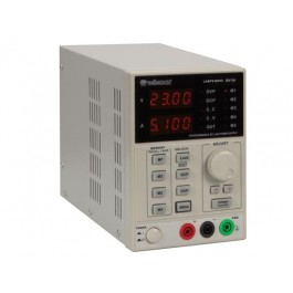 PROGRAMMEERBARE LABORATORIUMVOEDING 0-30V / 5A DUBBELE LCD DISPLAY MET USB