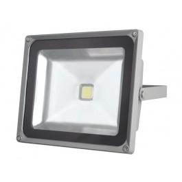 BOUWLAMP LED 50W 3000LM 3000K IP65 230V GRIJS
