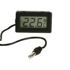 DIGITALE TEMPERATUUR METER LCD INBOUW -50C/+70C