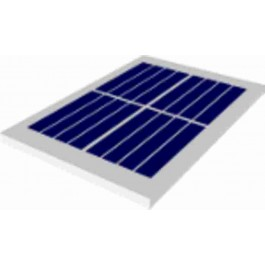 SOLAR MODULE/ZONNECEL 2.2V 185MA 407MW 41X67,5MM IP65