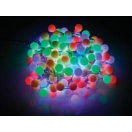 LED LICHTSLINGER GEKLEURD 200 LEDS 21M/16M MET ADAPTER