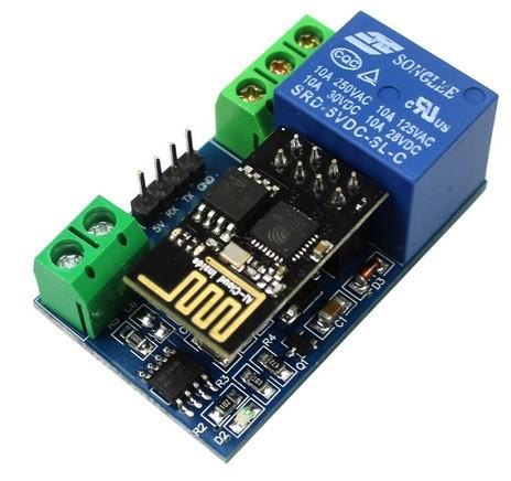 WIFI RELAIS MODULE 5VDC ESP8266