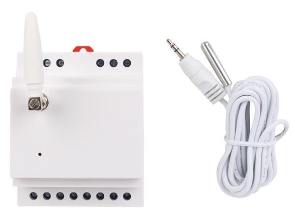 GSM-MODULE VOOR DIN-RAILMONTAGE - 1 KANAAL