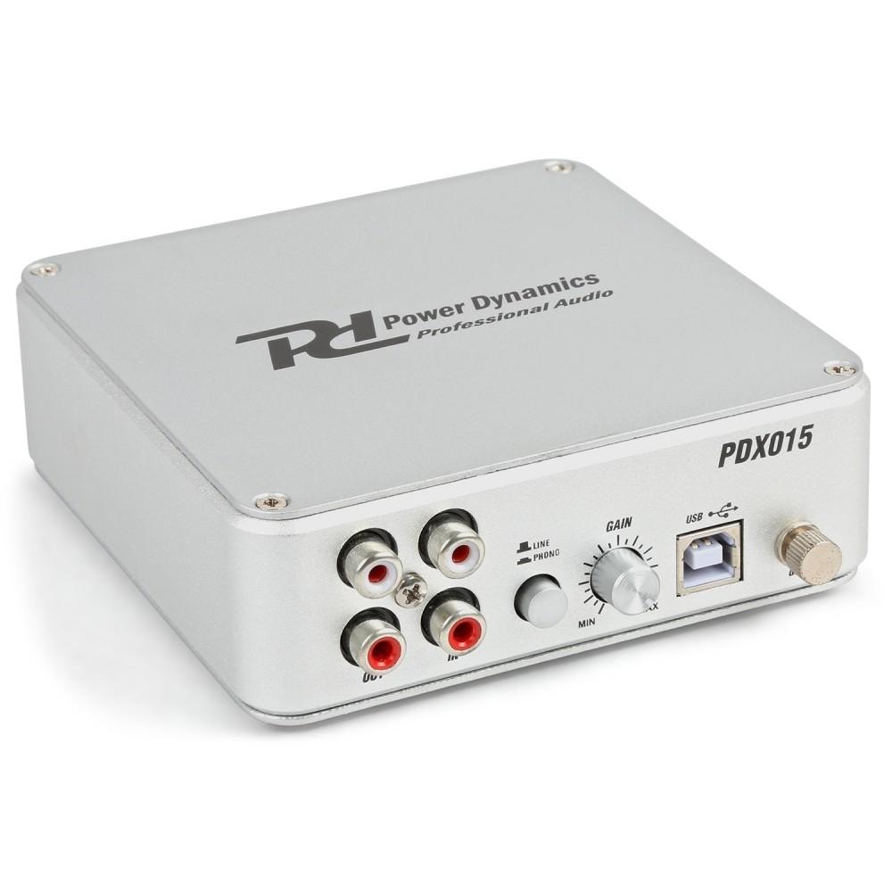 VOORVERSTERKER VOOR PICK-UP/LINE USB  (RIAA)