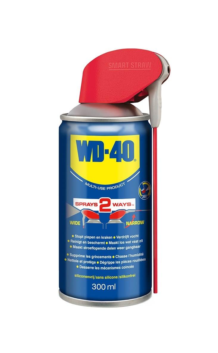 WD40 MULTI-USE 300ML SMART STRAW SPUITBUS
