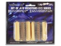 WEERSTANDPAKKET 0.25W E12 REEKS 10E TOT 1M 61 X 10 STUKS