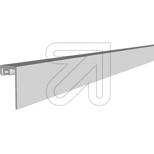ALUMINIUM WAND-PROFIEL 1M VOOR LEDSTRIPS - Ledstrip Montage ...