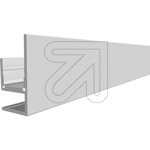 ALUMINIUM WAND/GLAS-PROFIEL 2M VOOR LEDSTRIPS - Ledstrip Montage ...
