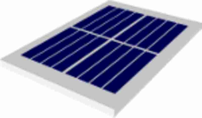 SOLAR MODULE/ZONNECEL 2.2V 185MA 407MW 41X67,5MM IP65