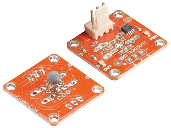 Arduino tinkerkit thermistor sensor tinker kits