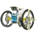 EDUCATIEVE ROBOTKIT OP ZONNE-ENERGIE - 14-IN-1