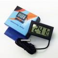 DIGITALE TEMPERATUUR METER LCD INBOUW -50C/+110C