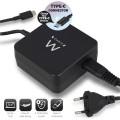 USB TYPE-C LAPTOPLADER MET POWER DELIVERY PROFIELEN 65W