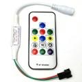 LED CONTROLLER VOOR DATA LEDSTRIP MET WS2811 EN WS2812 LEDSINCL. AFSTANDBEDIEING